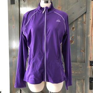Adidas Purple Sweatshirt Size Large